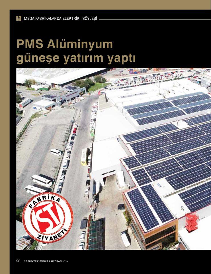 PMS Güneşe Yatırım Yaptı