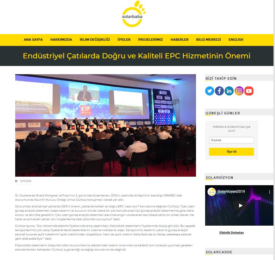 Endüstriyel Çatılarda Doğru ve Kaliteli EPC Hizmetinin Önemi