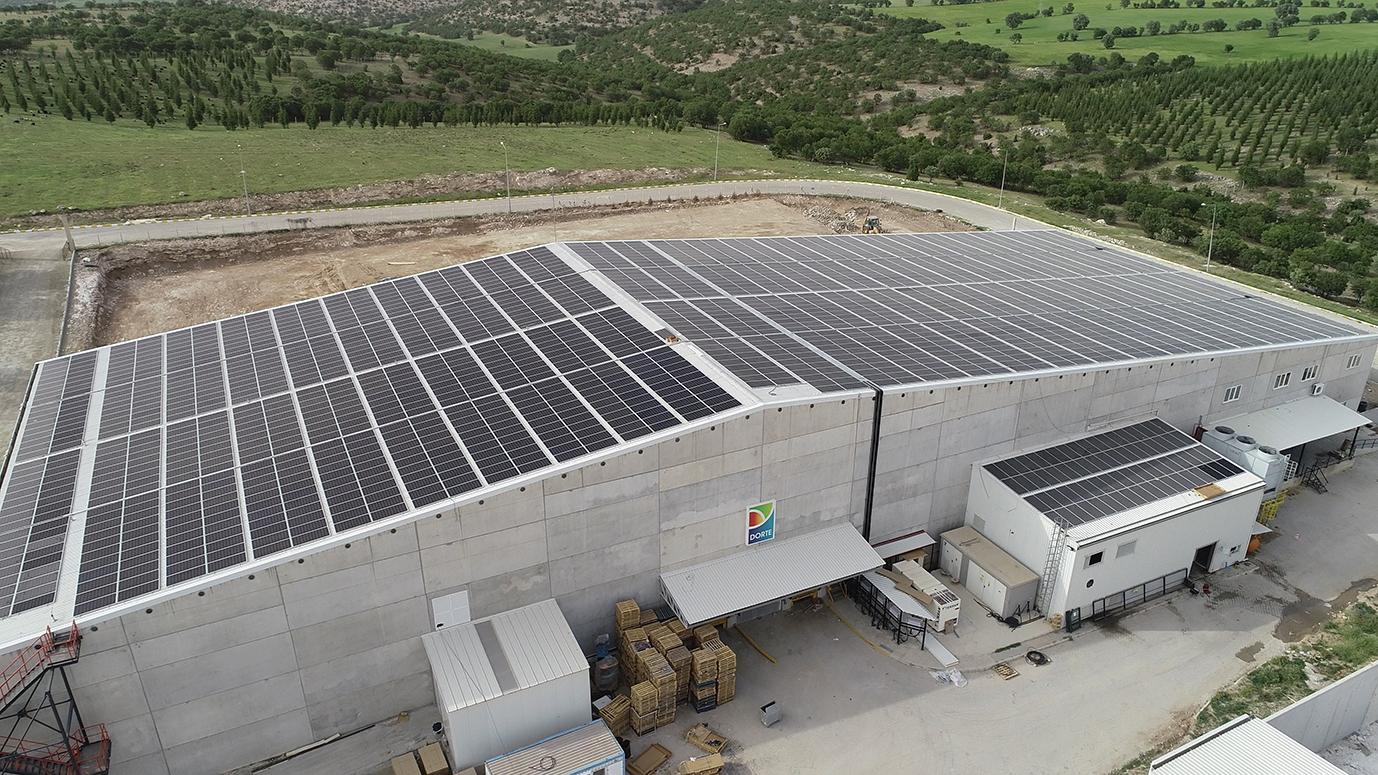 Asunim, Dorte Gıda'nın Soğuk Hava Deposuna Çatı Üzeri Güneş Enerji Santrali Kuracak